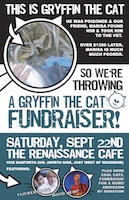 Gryffin The Cat Poster